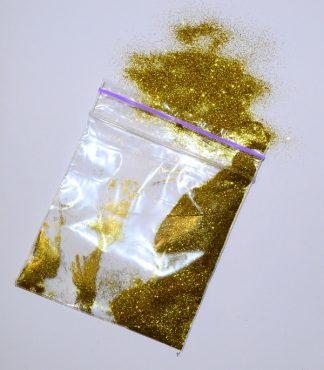 Золотой блеск для жидких обоев
