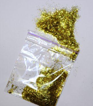 Золотистый блеск для жидких обоев