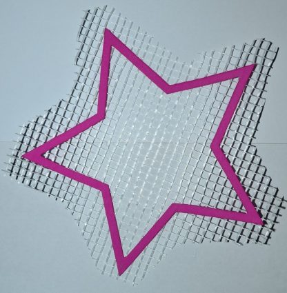 Звезда А5 - декор для жидких обоев