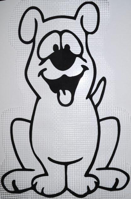 Декор для жидких обоев Экобарвы - пёс формата А2