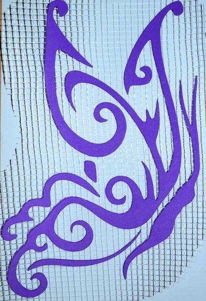 Бабочка_152 - декор для жидких обоев