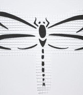 Стрекоза 002 - Декор для жидких обоев
